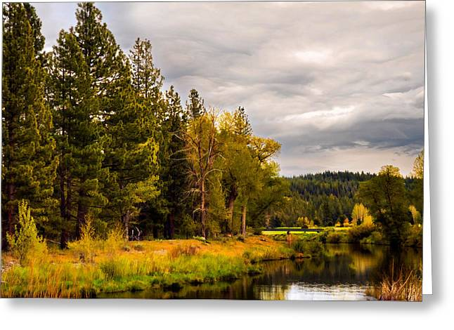 Middle Fork Greeting Card
