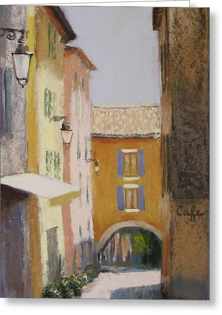 Midi In Valbonne Greeting Card by Jeanne Rosier Smith