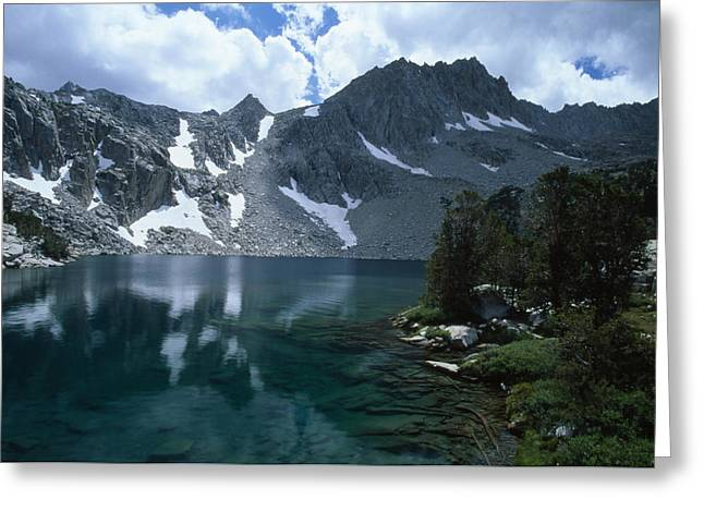 Midnight Lake Greeting Card by Soli Deo Gloria Wilderness And Wildlife Photography