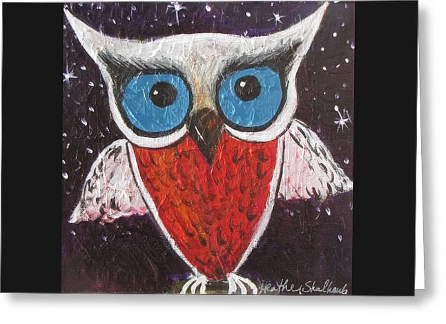 Midnight Owl Greeting Card