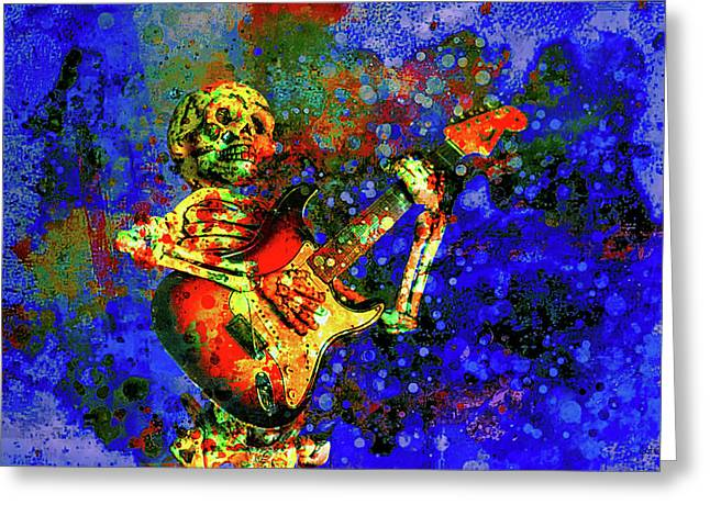 Greeting Card featuring the photograph Midnight Serenade by Jeff Gettis