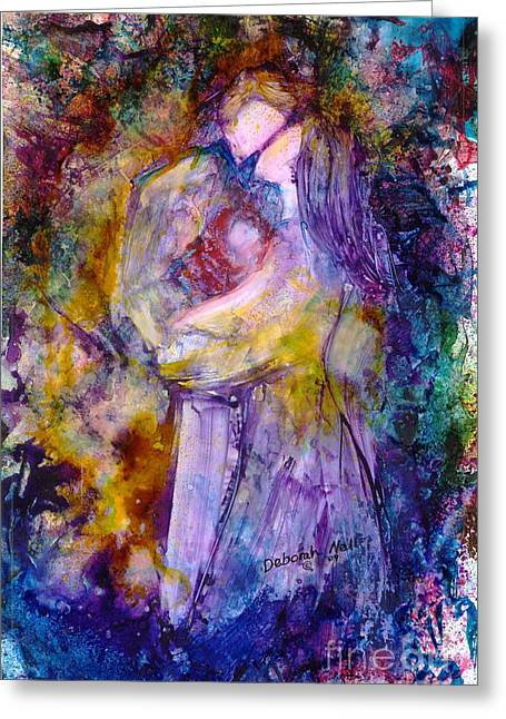 Midnight Whispers Greeting Card