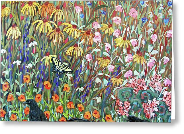 Midsummer Enchantment- Diptych Side B Greeting Card