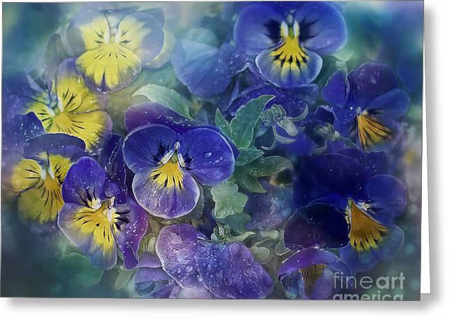 Midsummer Night's Dream Greeting Card by Agnieszka Mlicka