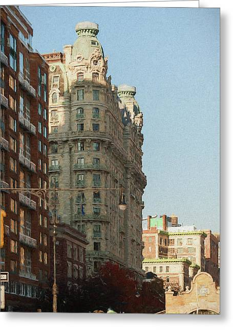 Midtown Manhattan Apartments Greeting Card
