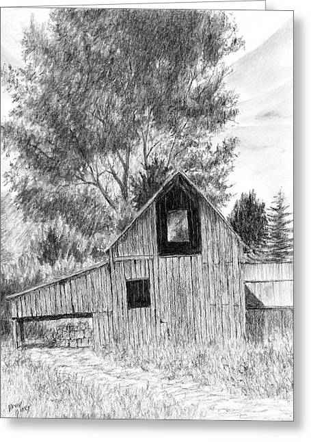 Midway Barn Greeting Card