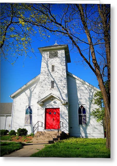 Midway Locust Grove Church Greeting Card