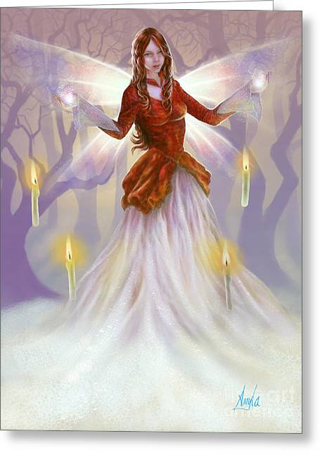 Midwinter Blessings Greeting Card