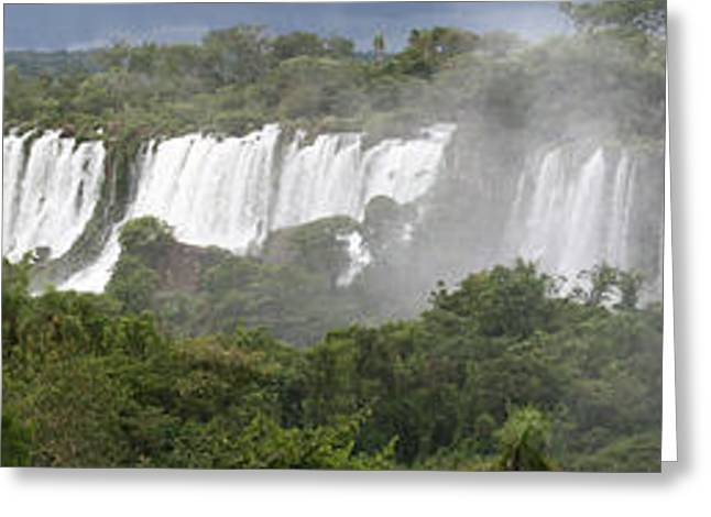 Mighty Iguazu Greeting Card