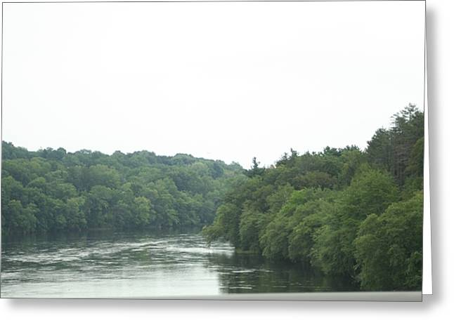 Mighty Merrimack River Greeting Card