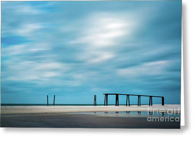 Mighty Pier Greeting Card