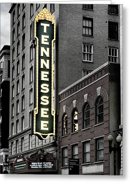 Mighty Tennessee Greeting Card