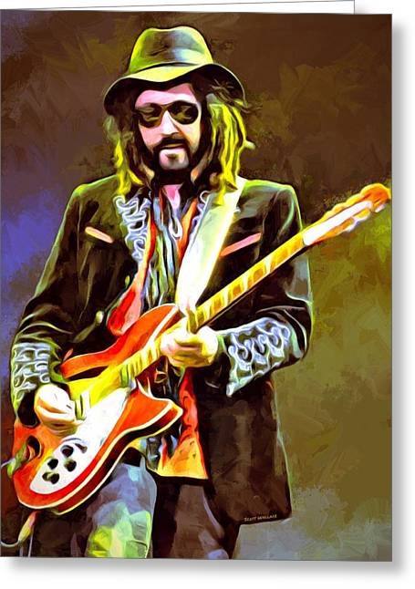 Mike Campbell Portrait Greeting Card