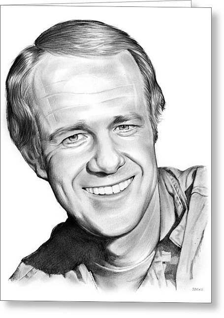 Mike Farrell Greeting Card