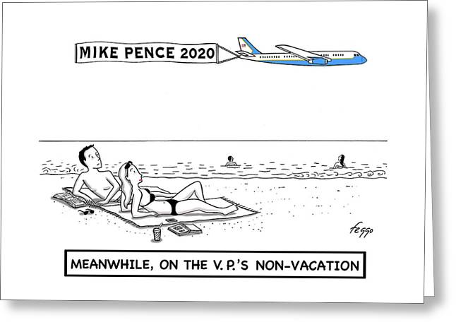 Mike Pence 2020 Greeting Card