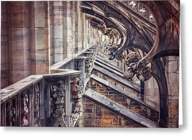 Milan Duomo In Detail  Greeting Card