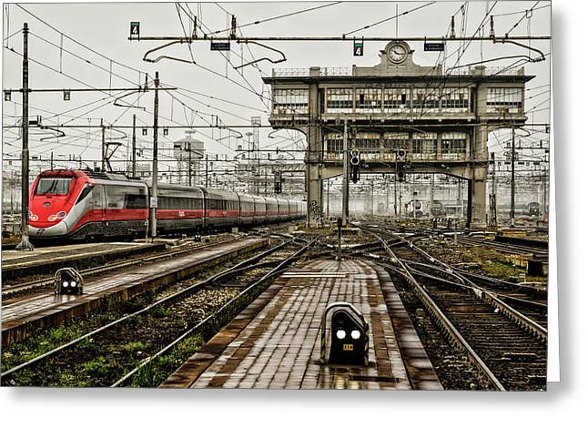 Milano Centrale. Greeting Card