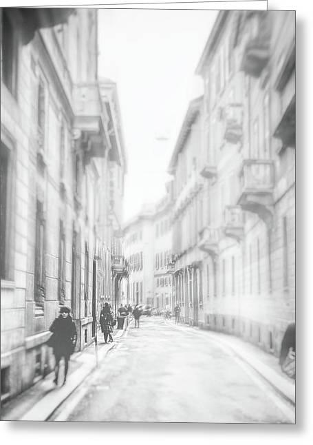 Milano Greeting Card by Okan YILMAZ