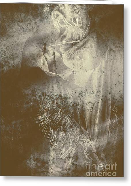 Mildew The Scarecrow Greeting Card