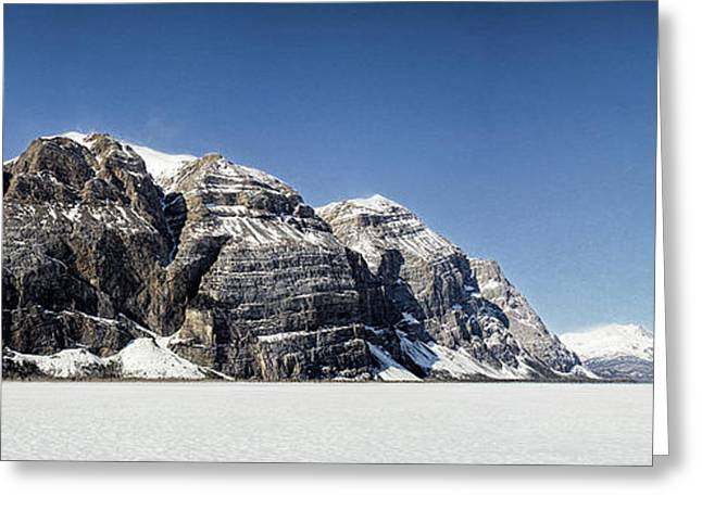 Mile High Cliffs Greeting Card