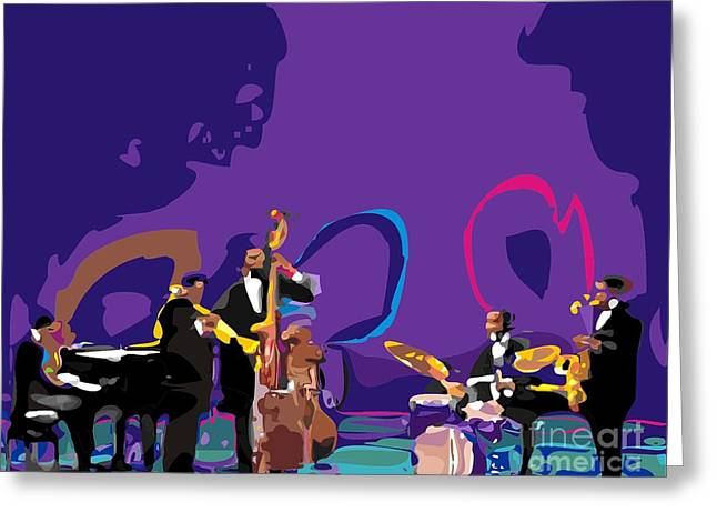 The Miles Davis Quintet Greeting Card