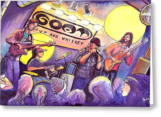 Miles Guzman Band Greeting Card