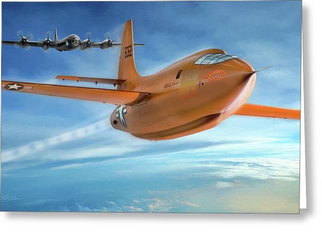 Milestone Bell X-1 Greeting Card
