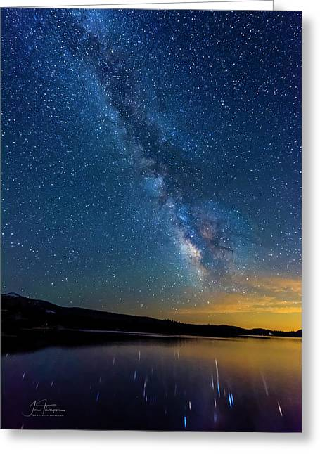 Greeting Card featuring the photograph Milky Way 6 by Jim Thompson