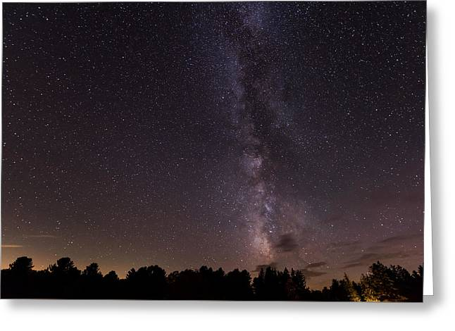 Milky Way And Stars Greeting Card