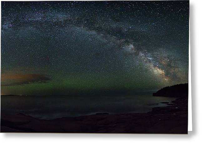 Milky Way Arch Greeting Card
