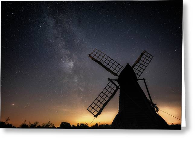 Milky Way At Wicken Greeting Card