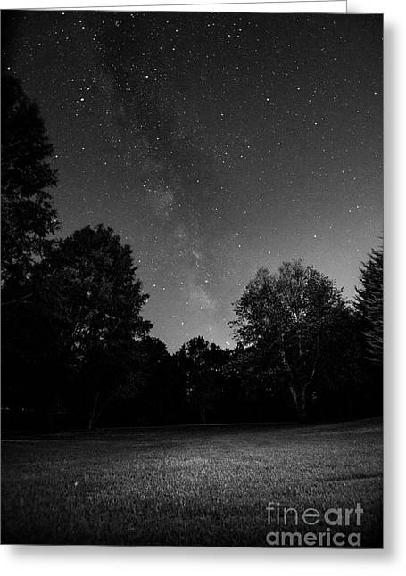 Greeting Card featuring the photograph Milky Way by Brian Jones