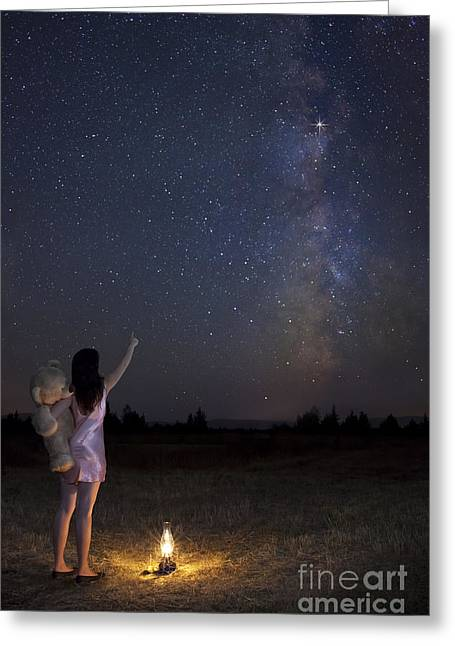 Milky Way Dream Greeting Card