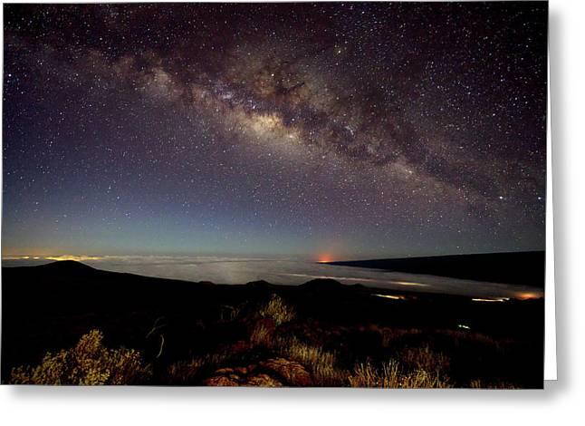 Milky Way From Mauna Kea Greeting Card