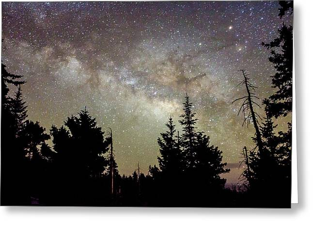 Milky Way From Mt. Graham Greeting Card