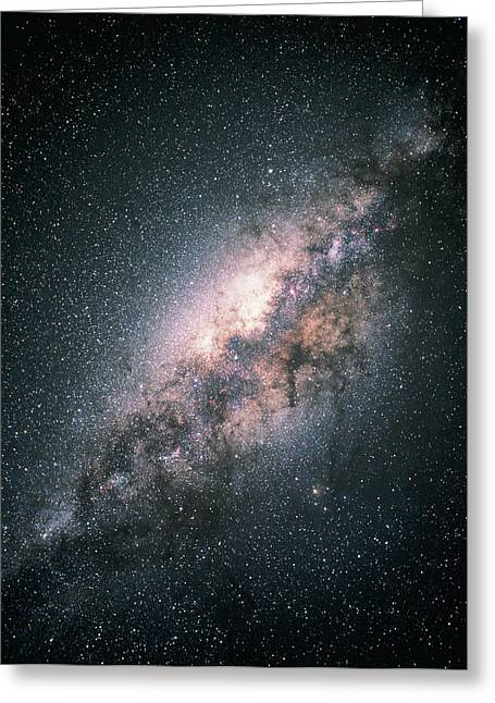 Astronomy Greeting Cards - Milky Way Galaxy Greeting Card by Akira Fujii
