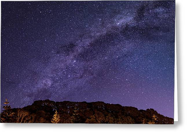 Milky Way In Pikoway  Greeting Card by Martin Capek