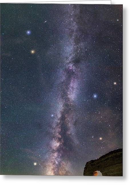 Milky Way Magic Greeting Card