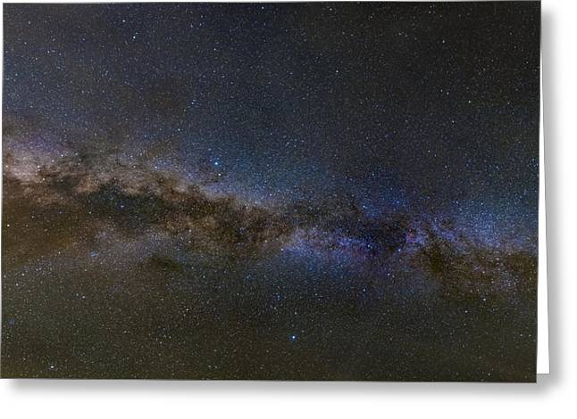 Milky Way South Greeting Card by Charles Warren