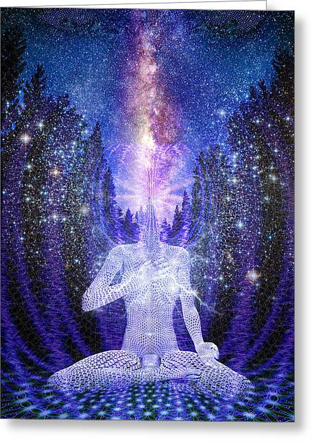 Milkyway Awakening Greeting Card
