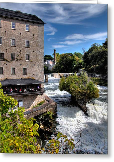Mill And Gorge Greeting Card
