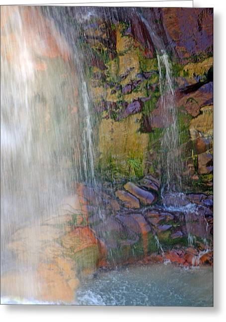 Mill Creek Falls 1 Greeting Card