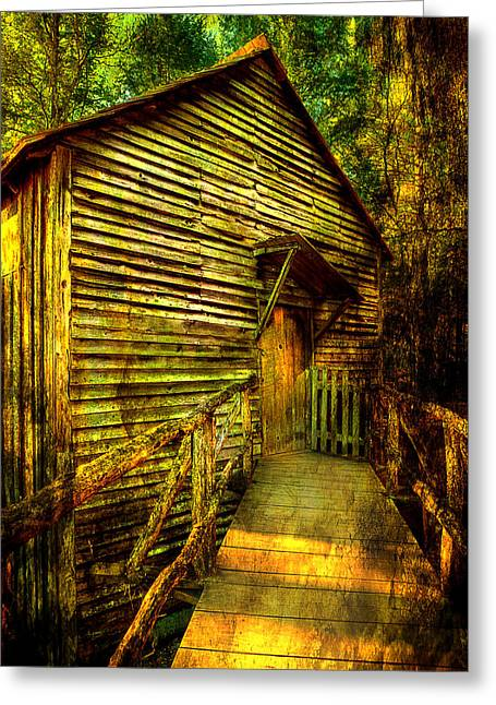Mill Greeting Card by Mike Eingle