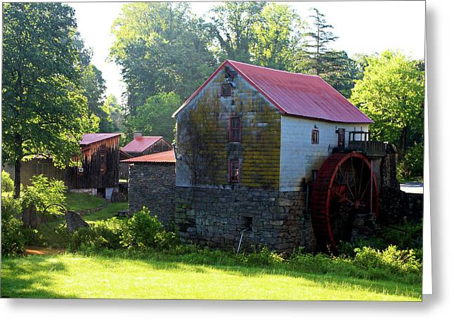 Mill Of Guilford Greeting Card