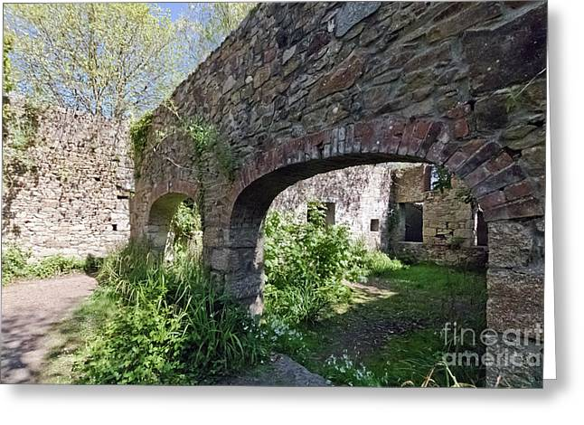 Mill Ruins Hayle Greeting Card