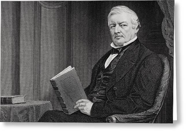 Millard Fillmore 1800 To 1874. 13th Greeting Card by Vintage Design Pics