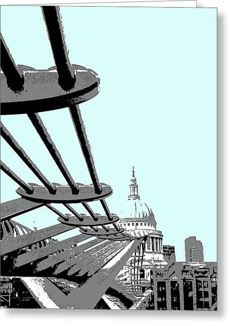 Millennium Bridge Greeting Card