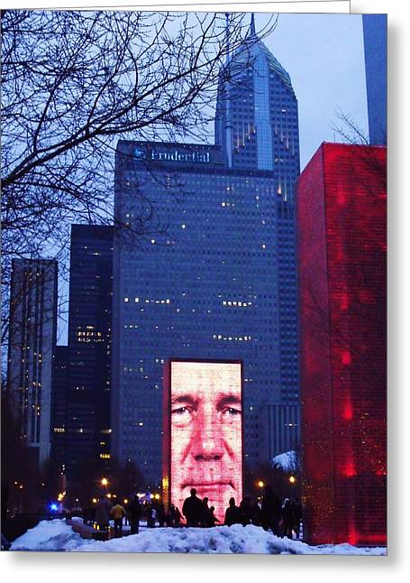 Millennium Park IIi Greeting Card