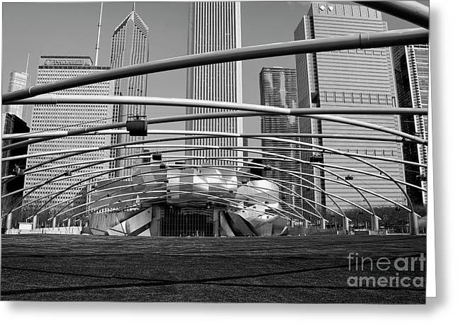 Millennium Park Iv Visit Www.angeliniphoto.com For More Greeting Card by Mary Angelini