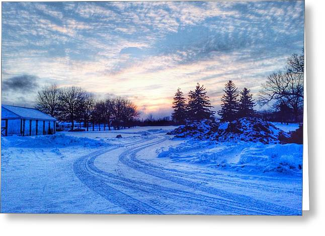 Millers Crossing Greeting Card by 2141 Photography